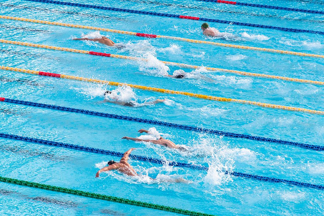 Z pasji do pływania